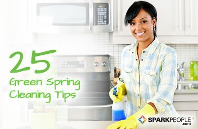 25 Green Spring Cleaning Tips